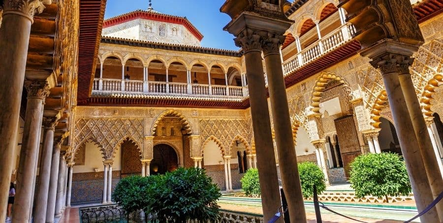 Guided tours of Royal Alcázar of Seville