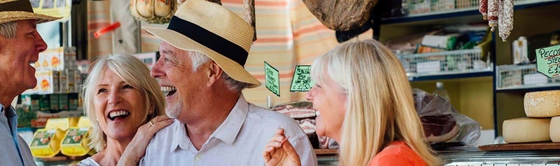 Experience best over 50s holidays with Travel Department