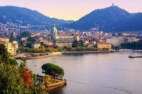 Guided holidays to Lake Como