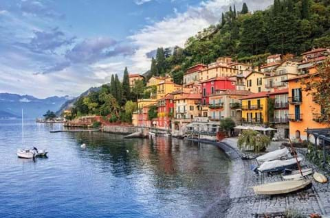 Town Of Menaggio On Lake Como