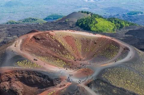 See Mount Etna on escorted Sicily holiday
