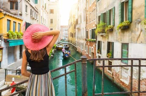 Enjoy a guided tour of Venice