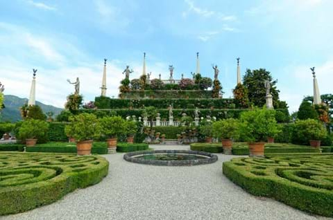 Beautiful Isola Bella Island Park