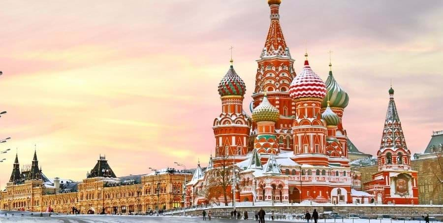 Guided tours of Red Square in Moscow