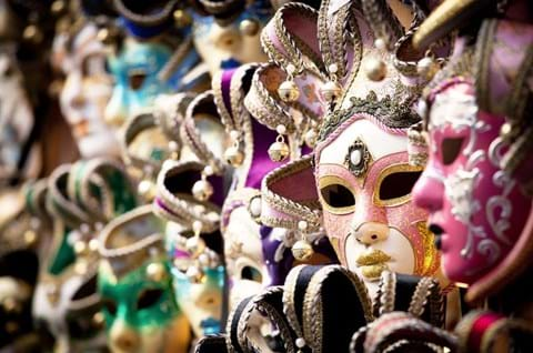 Purchase a Venetian Mask on a guided trip to Venice