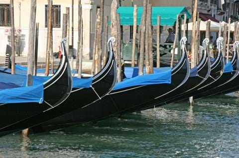 See the famous Gondolas on day trip to Venice